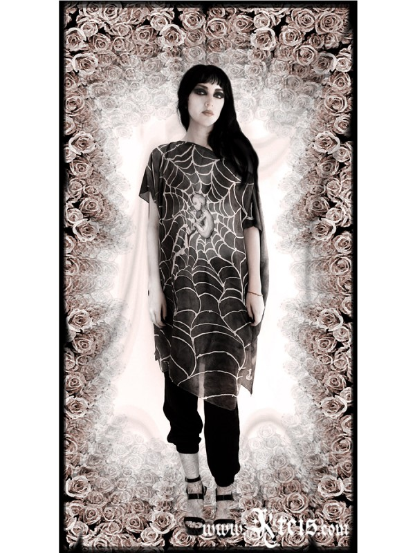 Moonchild Silk Tunic Dress