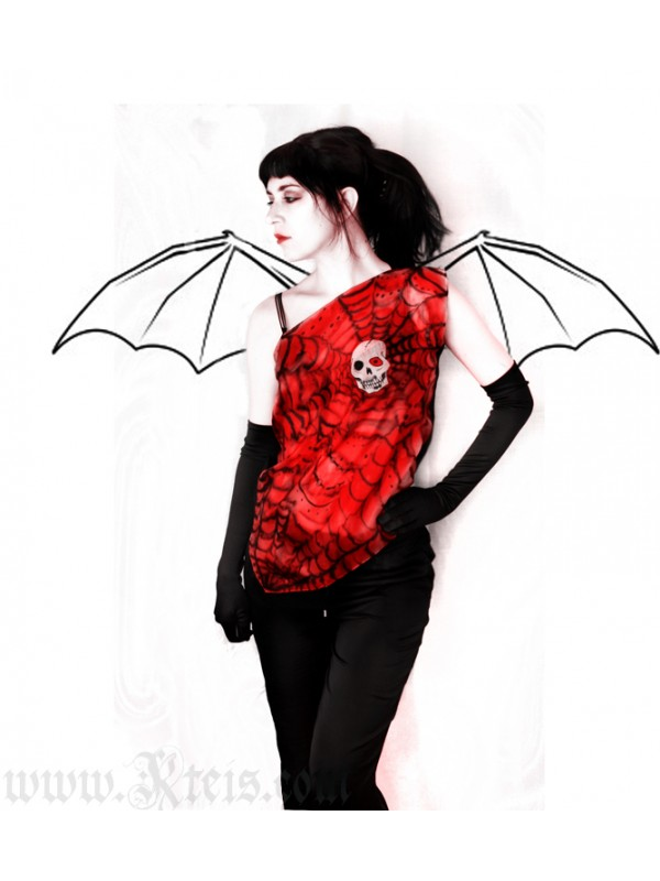 Skull Top - Gothic Fashion
