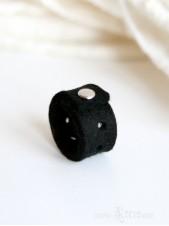 Silver Stud Minimalist Ring