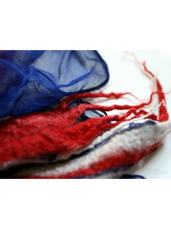 United Kingdom Union Jack Nuno Felt Scarf