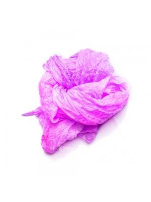 Lilac silk scarf