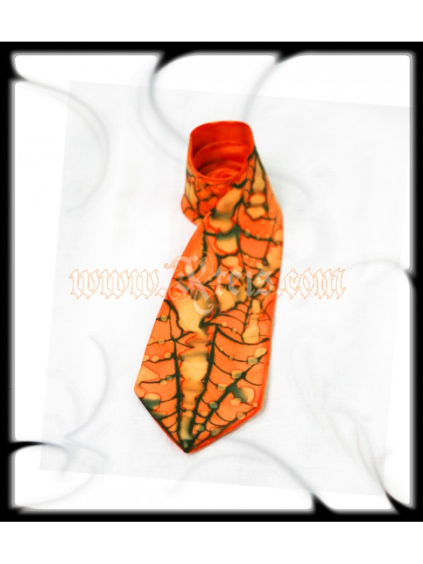 Goth Fashion Silk Tie