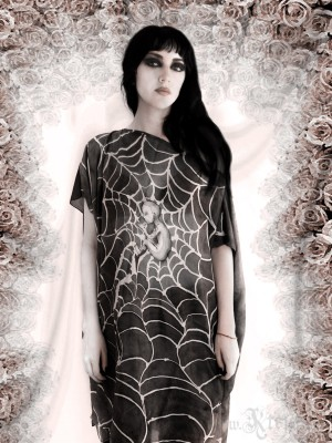 Moonchild Silk Tunic Dress