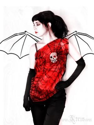 Skull Top - Gothic Fashion