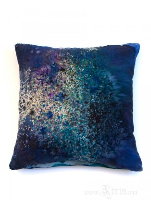 Galaxy Silk Decorative Pillow