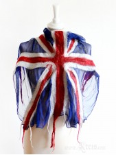 United Kingdom Union Jack Nuno Felt Scarf